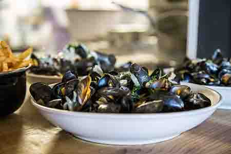 brasserie mesquer moules frites