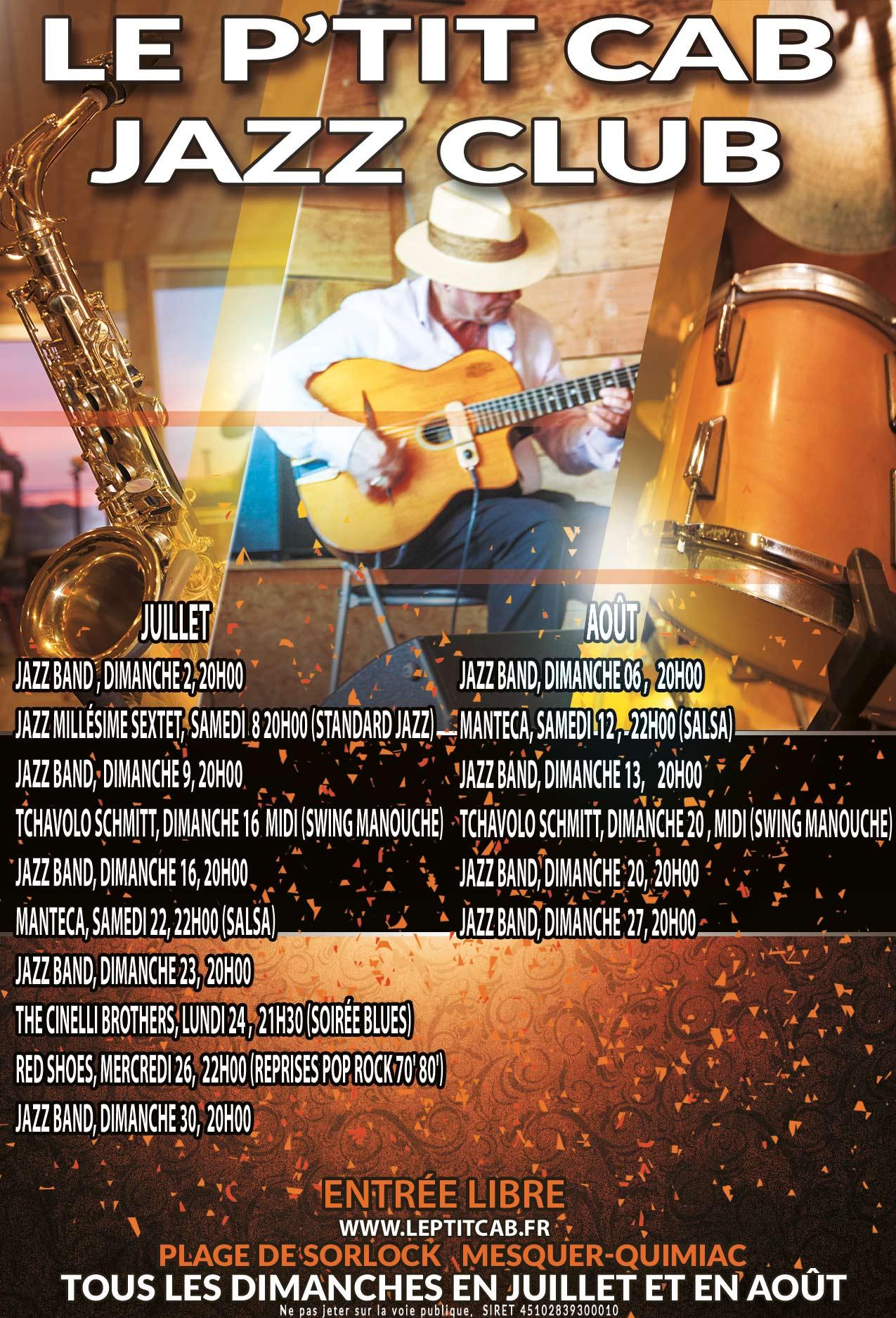 Les dates des concerts 2017