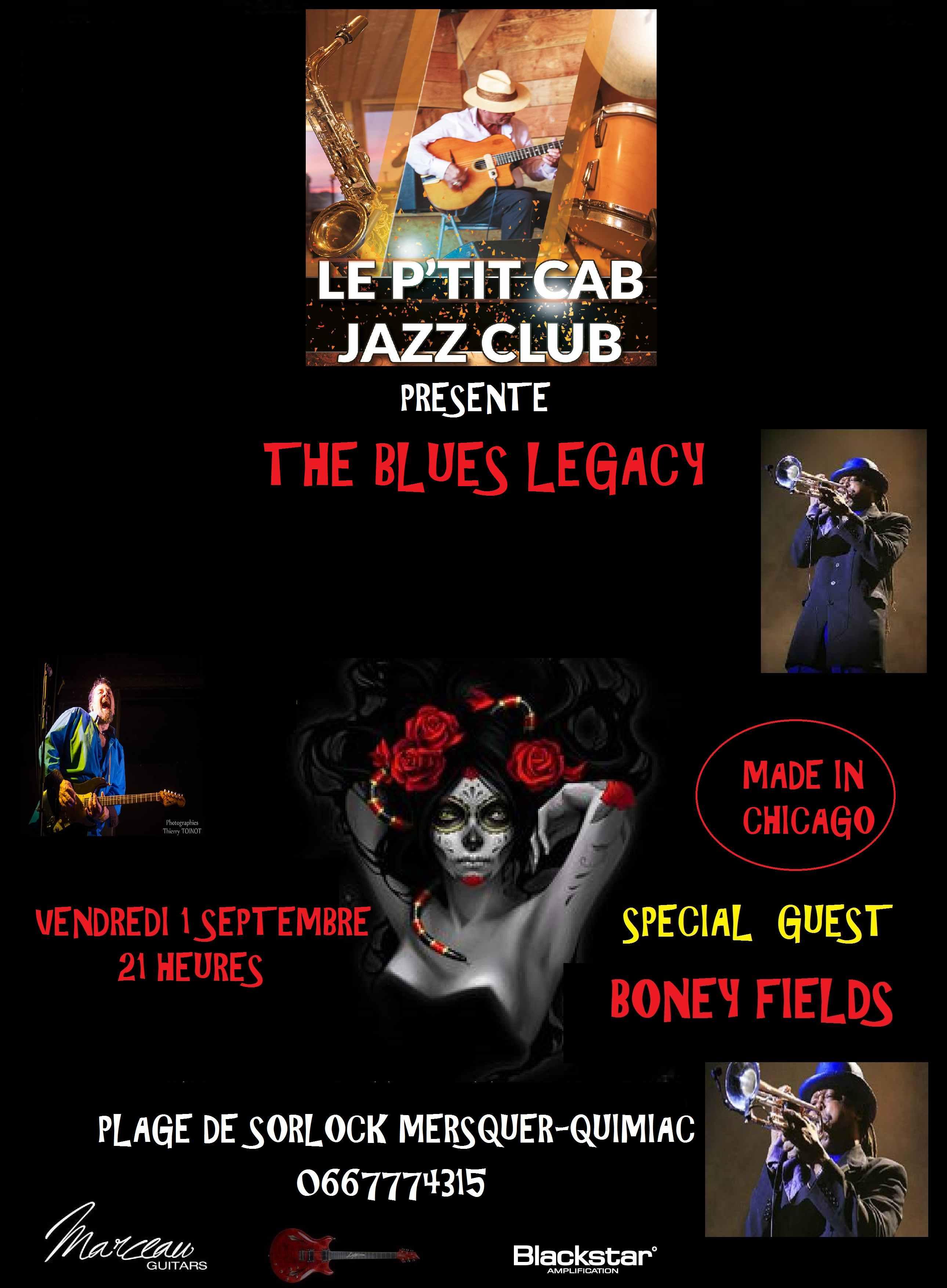 Restaurant Brasserie Le P'tit Caboulot » Soirée blues avec Boney field
