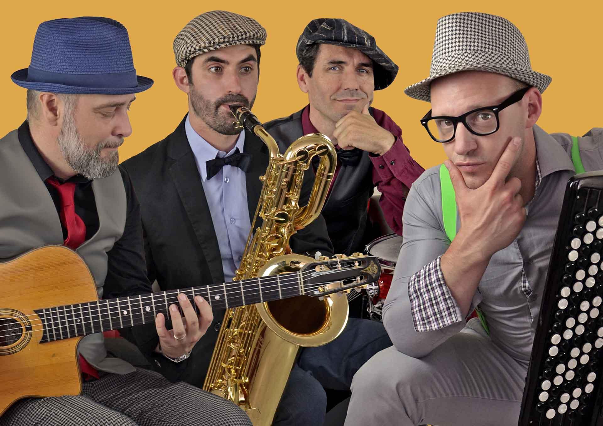 Swing Of France « LA CONTRE ATTAQUE DU JAZZ MUSETTE » en concert au p'tit caboulot
