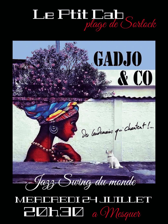 Concert Gadjo & Co Mercredi 24 Juillet