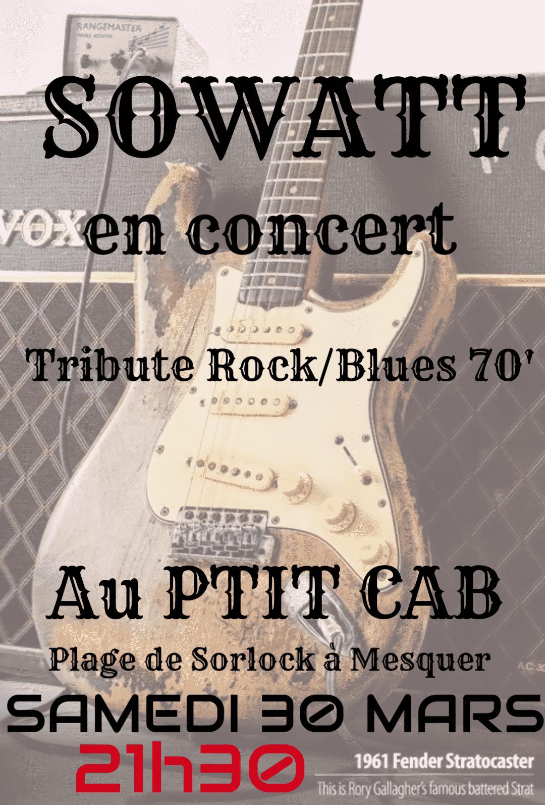 SoWatt Tribute Rock Blues 70'