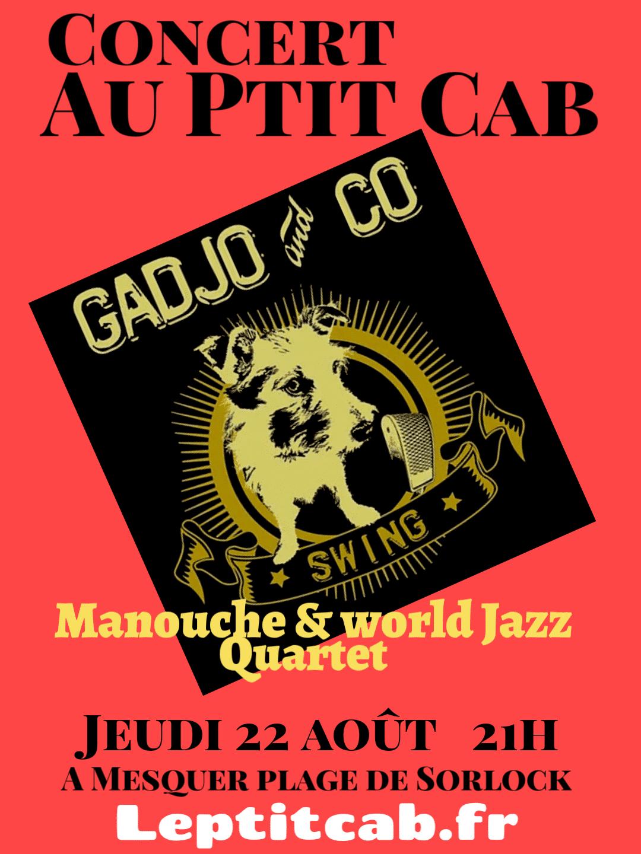 Concert Gadjo & Co Jeudi 22 Août