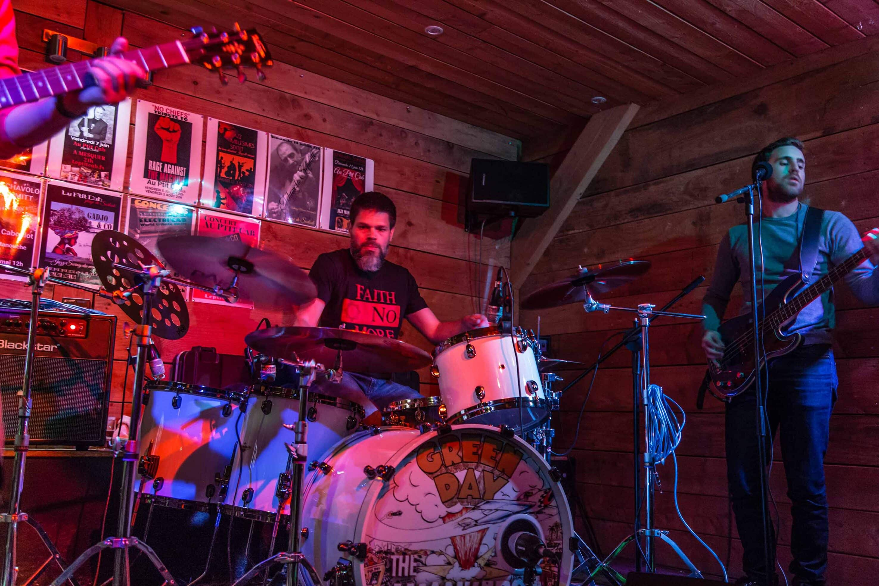 Restaurant Brasserie Le P'tit Caboulot » Concert Crooked Minds & the Wankers